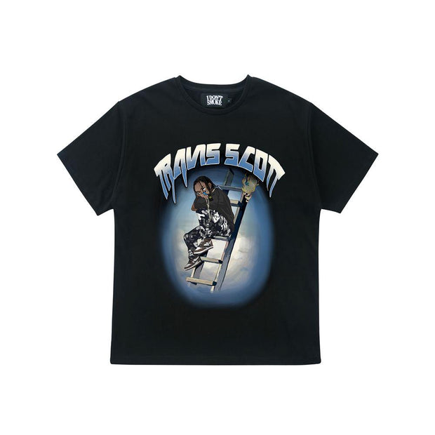 Donsmoke Travis Scott Animation Tee