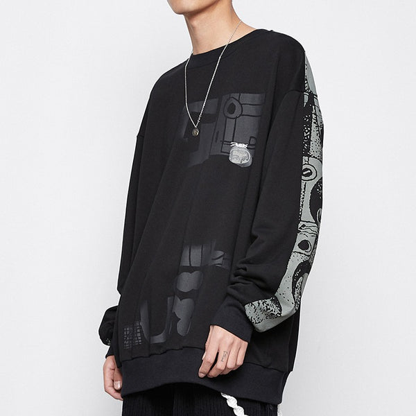 Fictitious 426 Roman Technology Crewneck