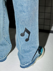 Musical Symphony Jeans - OH 2X Asia's Trending Streetwear OH2X
