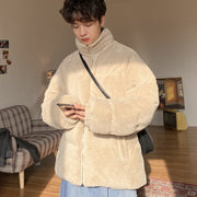 OH Essential Corduroy Puffer Jacket - OH 2X Asia's Trending Streetwear OH2X