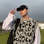 OH Leopard Print Vest - OH 2X Asia's Trending Streetwear OH2X