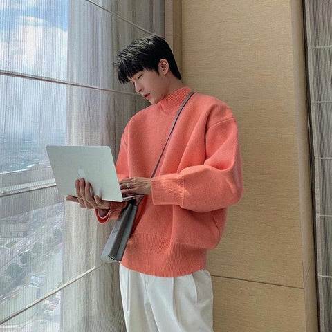 OH Essential Mockneck Sweater - OH 2X Asia's Trending Streetwear OH2X