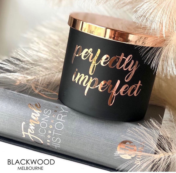 Perfectly Imperfect Candle | FREE SHIPPING