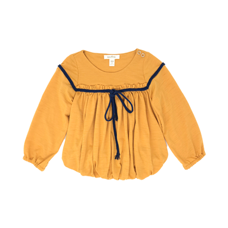 Baby Girls Mustard Top