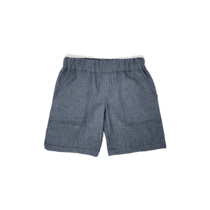 Boys Navy Polka Dots Shorts