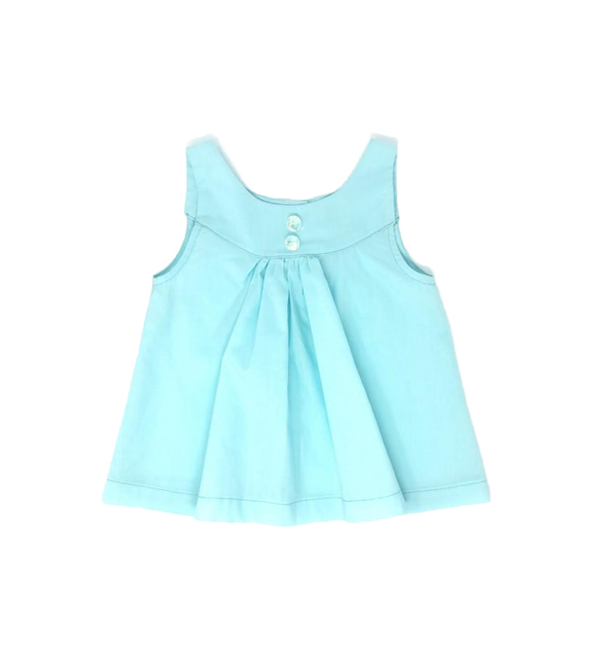 Girls turquoise top