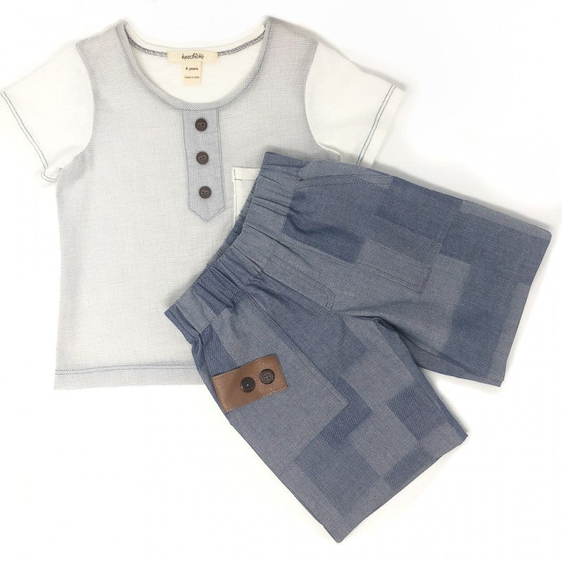 Boys Short-Sleeve Shirt