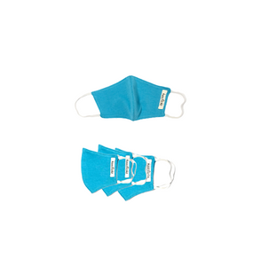 Light Blue Masks- Family Package (4 pcs)