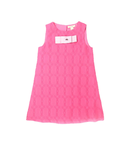 Girls A-line Pink Dress
