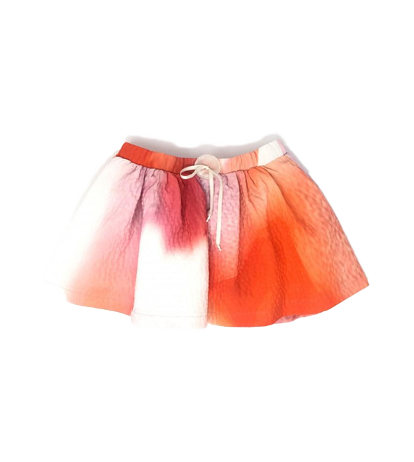 Girls Water color print skirt