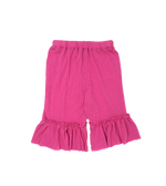 Girls Pink Ruffle Pants