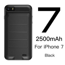 Load image into Gallery viewer, Baseus Battery Charger Case For iPhone 6 6s 7 Plus Battery Power Bank Case For iPhone 7 Battery Case Mobile Phone Powerbank Case - Case Smart