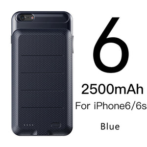 Baseus Battery Charger Case For iPhone 6 6s 7 Plus Battery Power Bank Case For iPhone 7 Battery Case Mobile Phone Powerbank Case - Case Smart