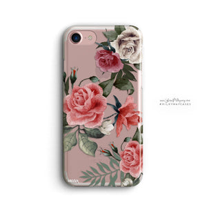 Petals iPhone & Samsung Clear Phone Case Cover - Case Smart