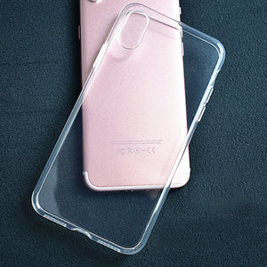 Cover Phone Case*Transparent TPU iPhone - Case Smart