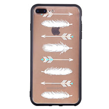 Load image into Gallery viewer, Arrowhead Feather Pattern Phone Case Soft Ultrathin TPU Case Embossment Varnish Design Drop-proof Phone Case Shell for iPhone - Case Smart