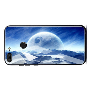 TOMKAS Space Case For Huawei P20 Lite Pro Mate 10 Lite Cases Cover P Smart Glass Coque Phone Case on for Huawei Honor 9 Lite 10 - Case Smart