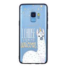 Load image into Gallery viewer, Alpaca Pattern Phone Case Soft Ultrathin TPU Case Embossment Varnish Design Drop-proof Phone Case Shell for Samsung - Case Smart