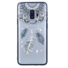 Load image into Gallery viewer, Three Feathers Pattern Phone Case Soft Ultrathin TPU Case Embossment Varnish Design Drop-proof Phone Case Shell for Samsung - Case Smart