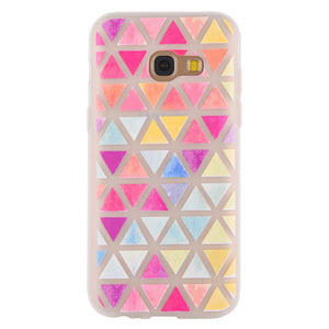 Ultrathin Protective Phone Case Fashion Colorful Geometric Pattern Soft TPU Phone Case Shell for Samsung - Case Smart