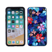 Load image into Gallery viewer, Phone Cover TPU Case Flower Printed Glass Shell Dustproof Protective Phone Case for iPhone - Case Smart