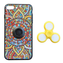 Load image into Gallery viewer, Colorful Hard Phone Case With LED Light Finger Spinner Toy For Iphone7 - Case Smart