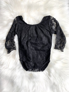 Lace Leotard [Black] (FINAL SALE!)