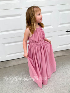Chiffon Maxi Dress [Dusty Pink] (FINAL SALE!)