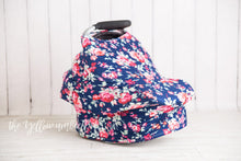 Load image into Gallery viewer, [Navy Floral] (FINAL SALE!)