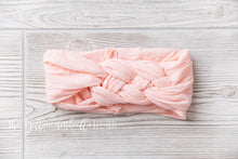 Load image into Gallery viewer, Sailor Knot Nylon Headwrap [Peach Pink] (FINAL SALE!)
