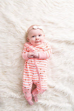Load image into Gallery viewer, Pretty in Pink Gold Glitter Jammies