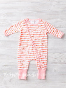 Pretty in Pink Gold Glitter Jammies