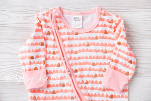 Pretty in Pink Gold Glitter Jammies (FINAL SALE!)
