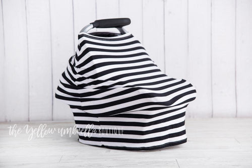 [Thick Black & White Stripe] (FINAL SALE!)