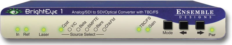 Ensemble Designs BrightEye 1 Analog/SDI - SDI/Optical Converter w/TBC