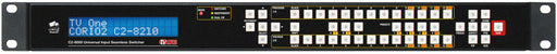 tvONE C2-8210 Modular AV Seamless Switcher - 8x DVI 2x SDI In-2x DVI 2x SDI out