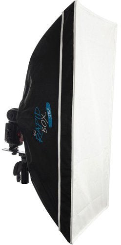Wescott 2032 Rapid Box Strip - Collapsible Softbox - 10 Inch x 24 Inch