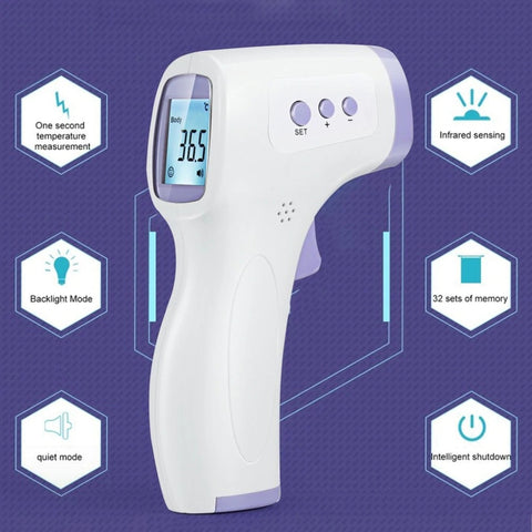 Non-Contact Infrared Laser Thermometer for Adult Child Digital Infrared Temperature Monito