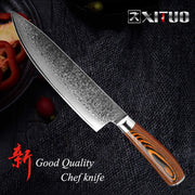 Japanese vg10 Damascus Knife Santoku High Carbon Stainless Steel Kitchen Knife