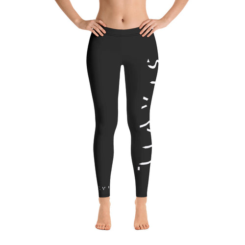 Sixvil Black Leggings