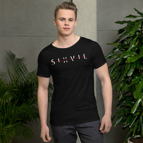 Men's Raw Neck Tee - SIXVIL