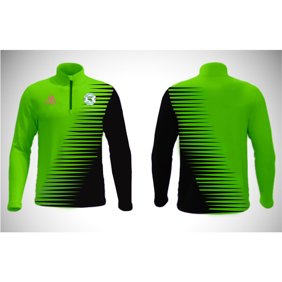 New Oak Boys FC Sublimated Half Zip Jacket