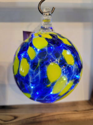 Blue & Gold Memory Ball