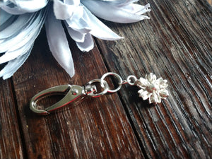 Corn Flower Keychain
