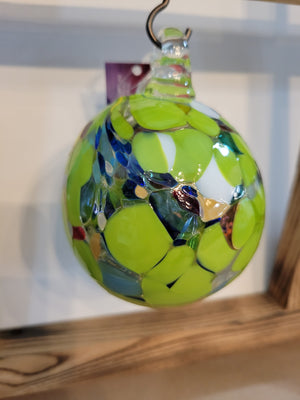 Lime Green Memory Ball
