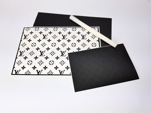 Pochoir & Stickers LV Monogram