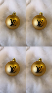 Boule de Noël Louis Vuitton - LOT 4 BOULES