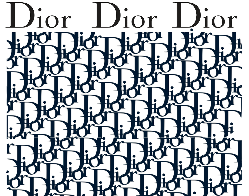 Pochoir & Stickers Dior Monogram