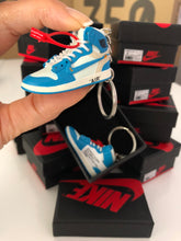 Charger l'image dans la galerie, LOT 3 JORDAN x OFF WHITE 3D (UNC, WHITE & CHICAGO)