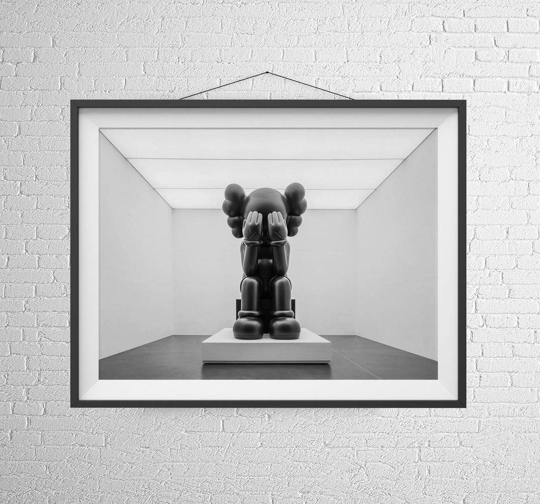 Tableau KAWS TOY - Triste Black